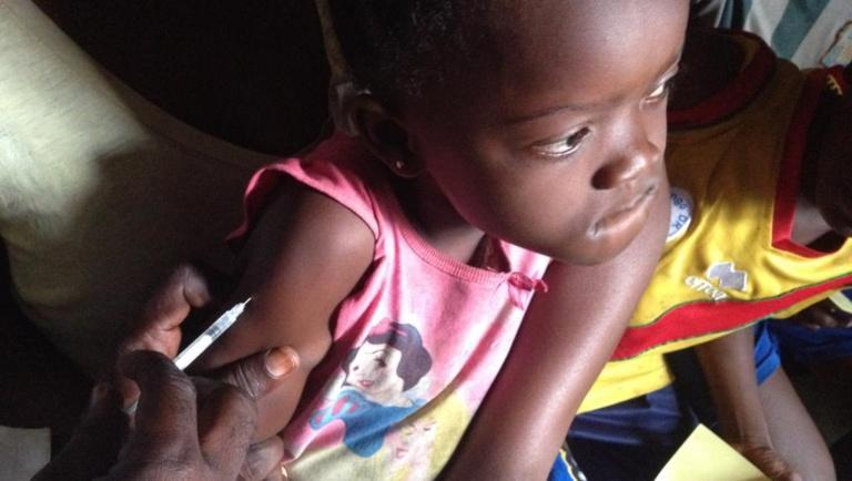 RDC: plan d'urgence pour relancer la vaccination systématique des enfants