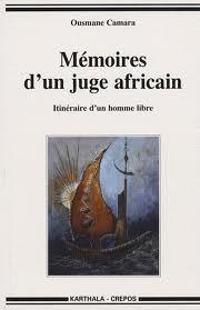 Note de lecture sur Mémoires d'un juge africain