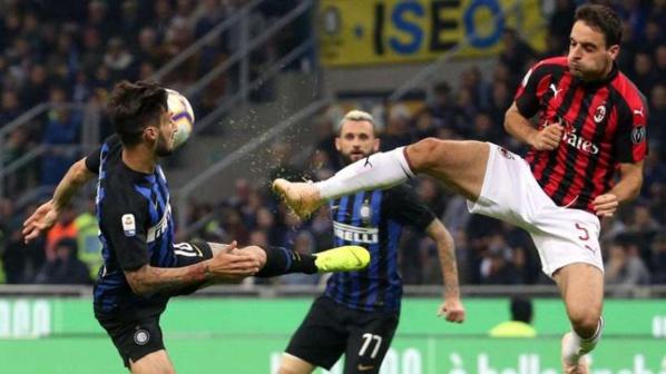 Italie : l'Inter remporte le derby sur le fil !