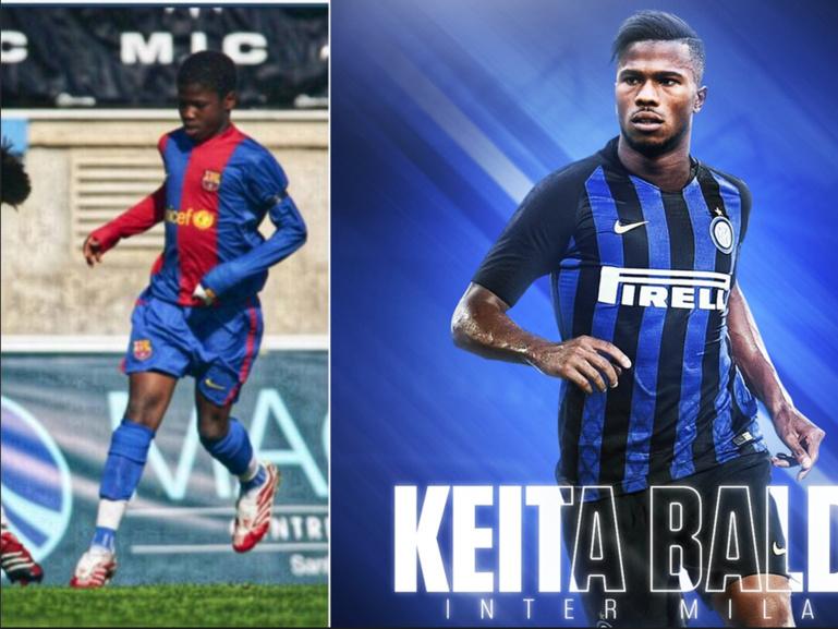 7ans après avoir quitté le Barça, Keita Baldé retrouve la Catalogne ce soir