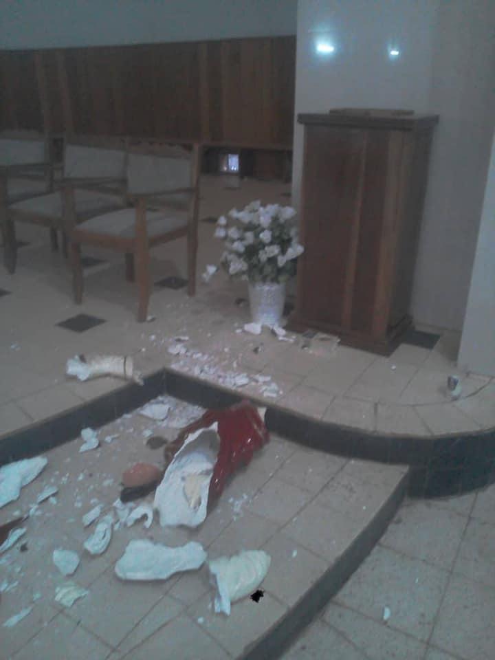 URGENT - La Cathédrale de Kaolack profanée (Photos)