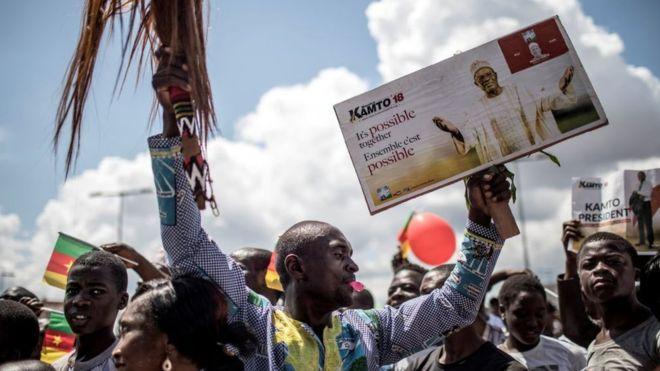 Manifestation de l'opposition dispersée à Yaoundé