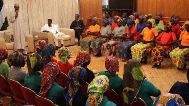 Des filles de Chibok dans le Nord du Cameroun