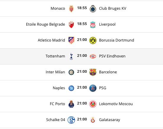 Ligue des champions. PSG, Liverpool, Atlético Mardrid... Le programme de la journée