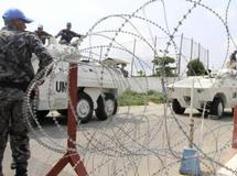 Le quartier général de l'Onuci à Abidjan. REUTERS/ Thierry Gouegnon