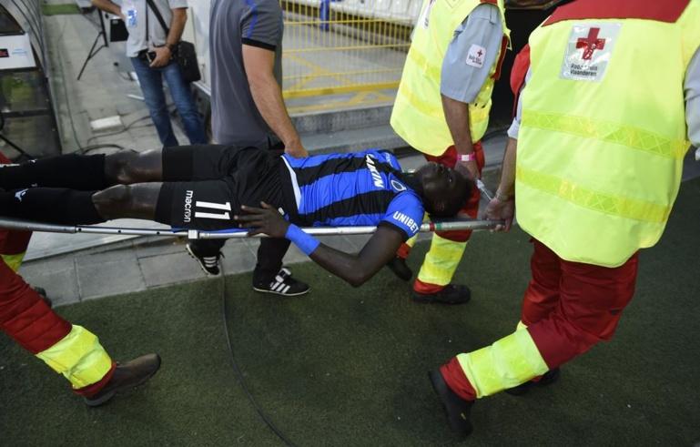 Monaco-FC Bruges #LDC : Krépin Diatta sort sur blessure à la 6e minute