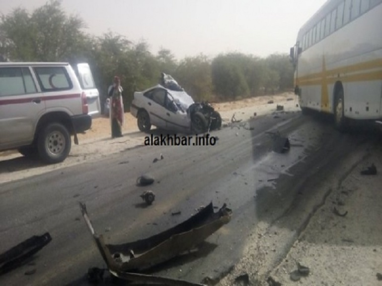 Mauritanie : 5 morts dans un accident de la route