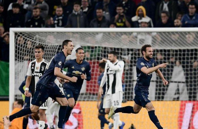 #LDC - 4e journée : Manchester United renverse Ronaldo et la Juve (1-2)