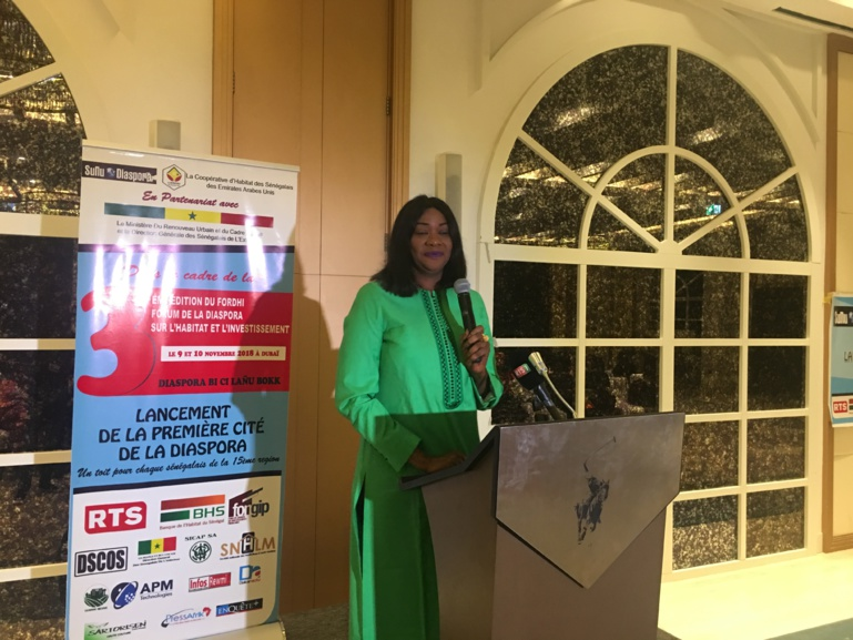 Absatou Kane Diop, Directrice de Sunu Diaspora et initiatrice du Forum