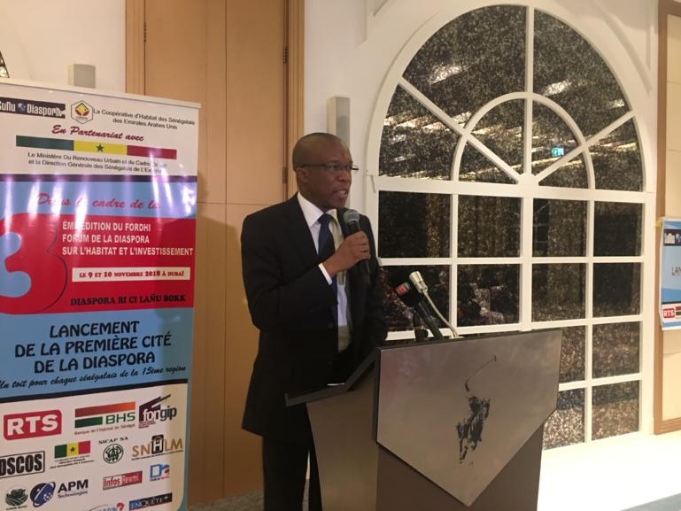 S.E monsieur Ibrahima Sorry Sylla, ambassadeur du Sénégal aux Emirats Arabes Unis