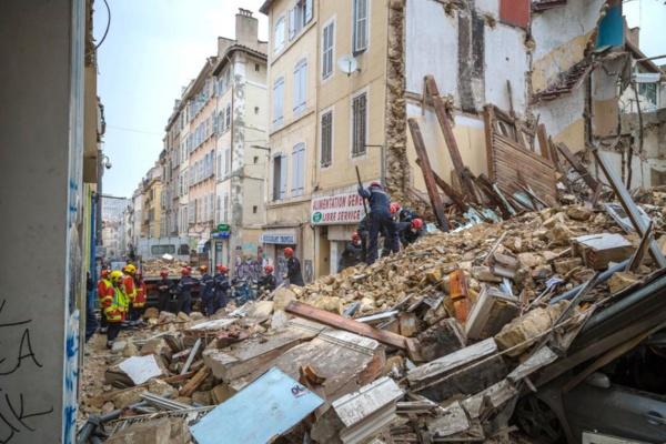 Effondrement d'immeubles à Marseille : 404 personnes prises en charge