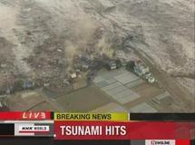 Le Japon secoué par un très violent séisme suivi d'un tsunami majeur