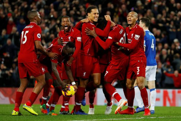 Premier League : Liverpool bat Everton à la dernière seconde dans le derby de la Mersey
