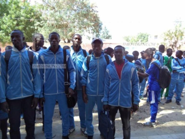 Guediawaye : manifestation des professeurs d'éducation physique
