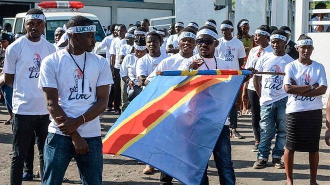 Sept activistes libérés en RDC