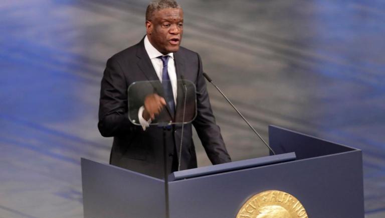 RDC: Mukwege fixe des «lignes rouges», le pouvoir l'invite à plus de «modestie»
