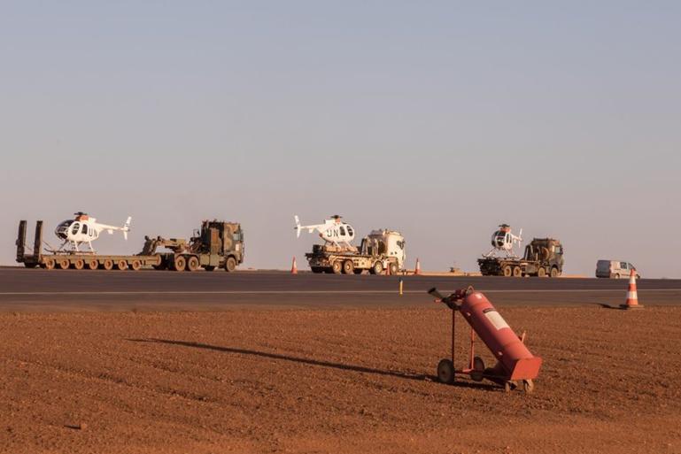 Mali: trois hélicoptères d'attaque des Forces Armées arrivent à Gao