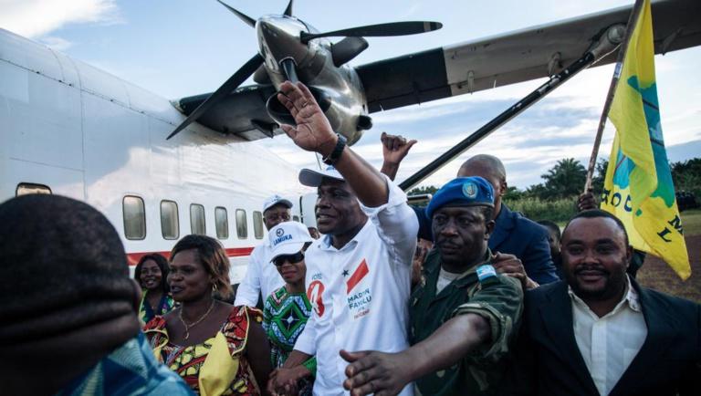 Elections en RDC: échauffourées lors de l'arrivée de Martin Fayulu à Lubumbashi