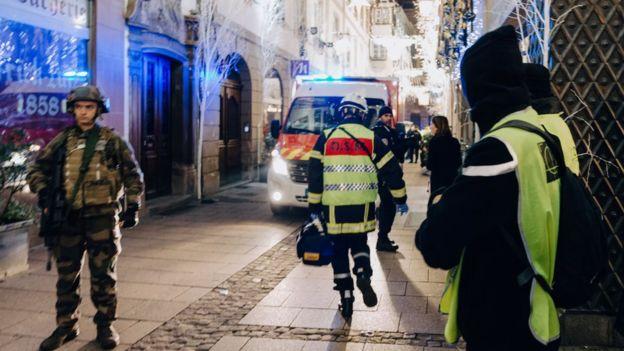 Trois morts dans la fusillade de Strasbourg