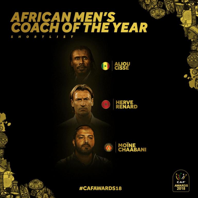 CAF Awards-Meilleur Entraîneur Africain : Aliou Cissé finaliste