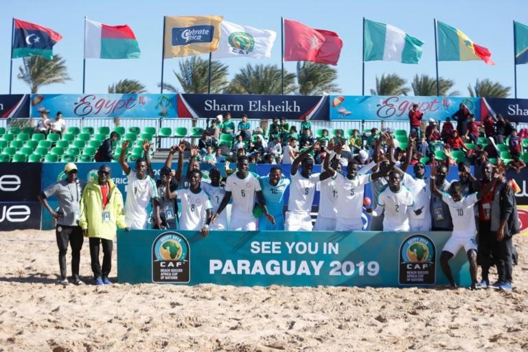 CAN Beach Soccer : Le Sénégal champion pour la 5e fois
