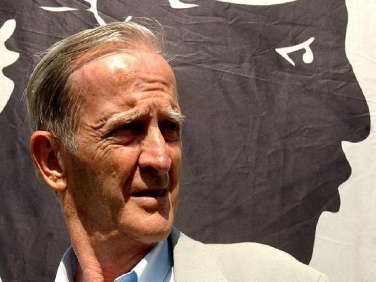 Le père du nationalisme corse, Edmond Simeoni, est mort