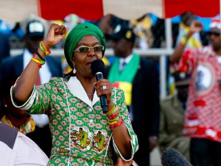 L'Afrique du Sud délivre un mandat d'arrêt contre Grace Mugabe