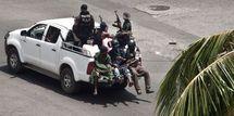 A Yopougon, des centaines voire des milliers de miliciens pro-Gbagbo résistent encore aux Forces républicaines de Côte d'Ivoire (FRCI).AFP/JEAN-PHILIPPE KSIAZEK