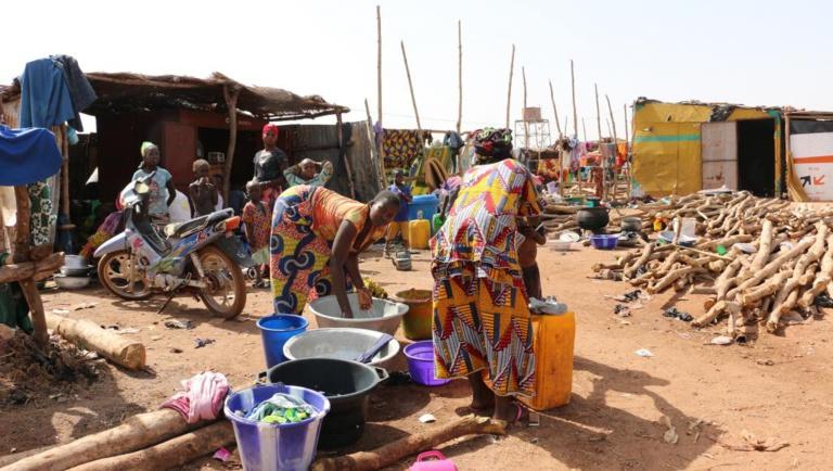 Mali: les déplacés de Sadia (centre), ont trouvé refuge aux portes de Bamako