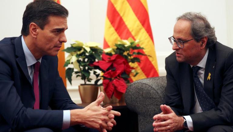 Espagne: rapprochement sous tension entre Madrid et les séparatistes catalans