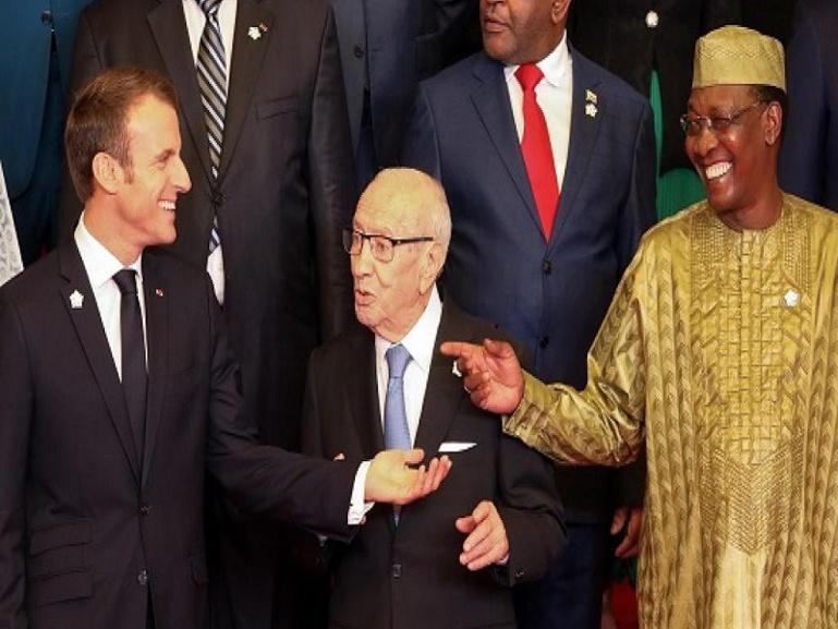 Tchad : la visite d'Emmanuel Macron suscite l'émoi de l'opposition tchadienne