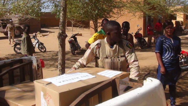 Mali: Les Casques bleus sénégalais de la MINUSMA aux côtés de la population de Gao