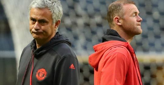 """Rooney: """"Même les cuisiniers n'étaient pas contents"""" de Mourinho"""