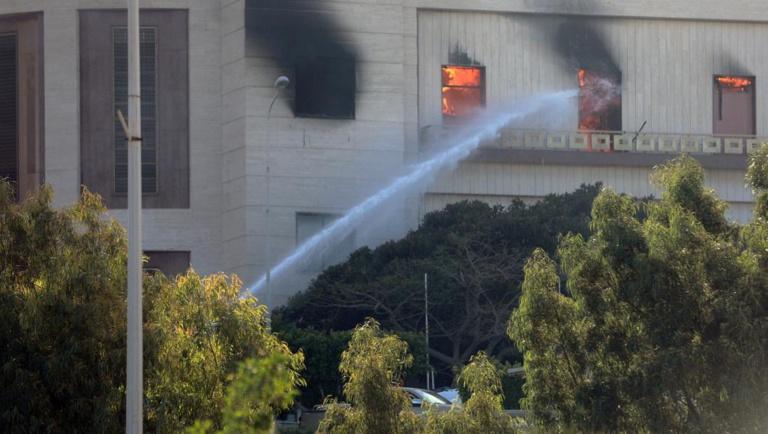 Libye : Le ministère des Affaires étrangères attaqué