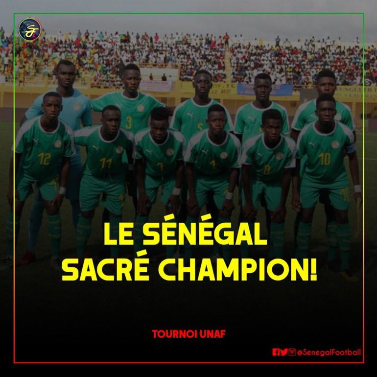 Tournoi Unaf U17 : le Sénégal bât le Maroc en finale (5-4)