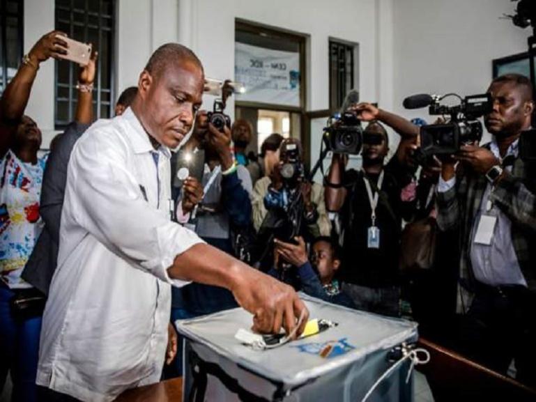 Martin Fayulu a voté