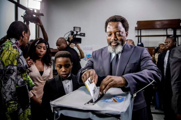 kabila a voté