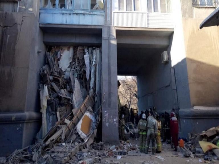 Explosion meurtrière en Russie: recherches périlleuses dans les décombres