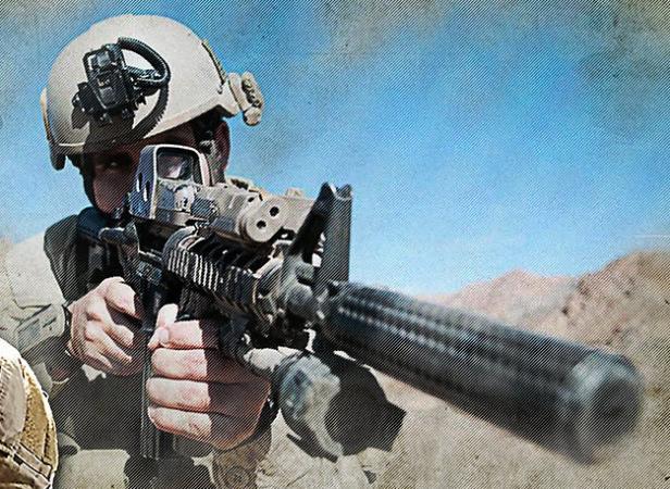 Un Navy SEAL américain. DR/US NAVY