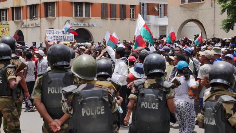 [Reportage] Madagascar: journée tendue mercredi dans la capitale