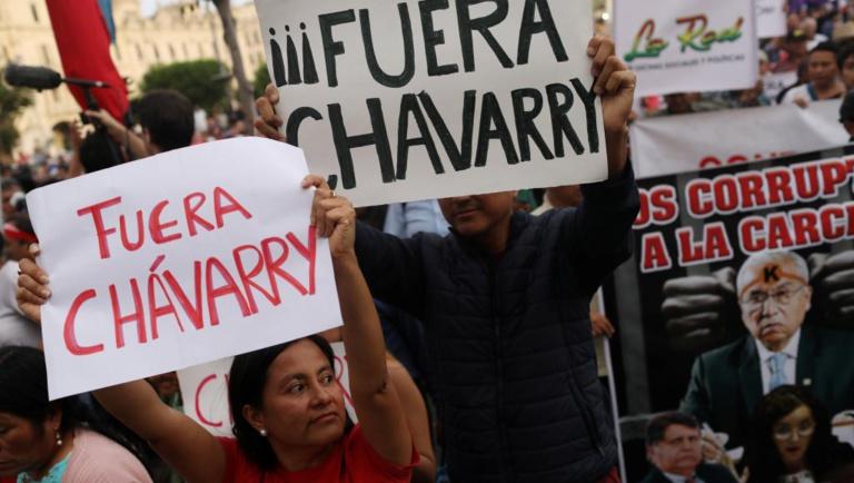Pérou: les manifestants demandent la démission du procureur général Chavarry
