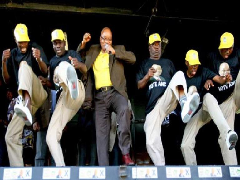 Jacob Zuma se met à la musique