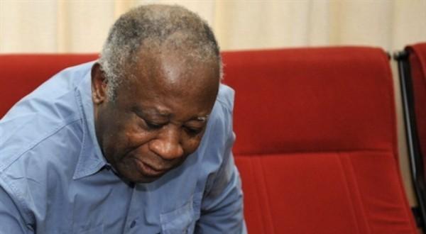 Laurent Gbagbo dans la résidence surveillée de Korhogo, le 2 mai 2011. AFP PHOTO / SIA KAMBOU