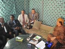 Mouammar Kadhafi déclare que l'Otan ne peut pas l'atteindre