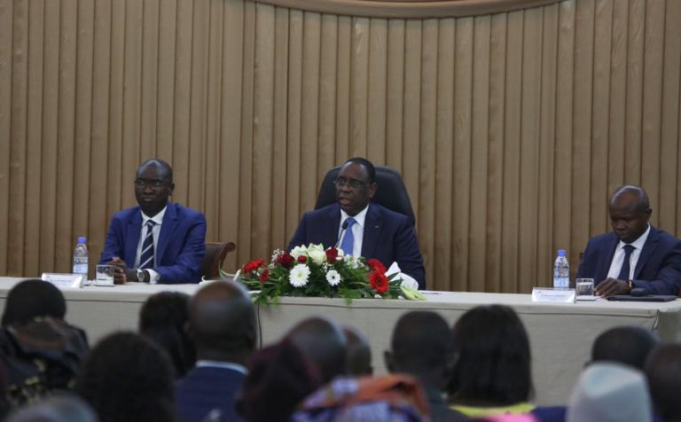 Macky répond au groupe Keur Gui : «L'Afrique ne se développera pas avec une jeunesse qui insulte ses Présidents»