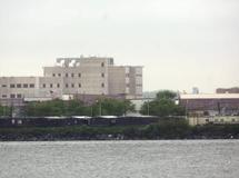 La prison de Rikers Island le 17 mai 2011. REUTERS/Chip East