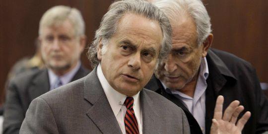 L'avocat de Dominique Strauss-Kahn, Benjamin Brafman est considéré comme l'un des ténors du barreau de New York. AP/Richard Drew