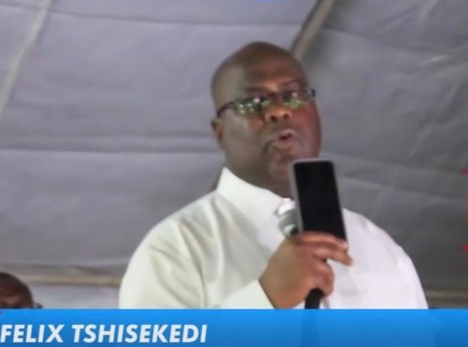 """Tshisékédi promet un Congo sans """"haine ni division"""""""