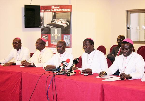 Les Évêques du Sénégal très préoccupés par la situation préélectorale