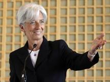 La Française Christine Lagarde se déclare candidate à la direction du FMI